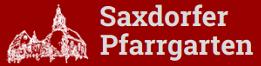 Saxdorfer Pfarrgarten