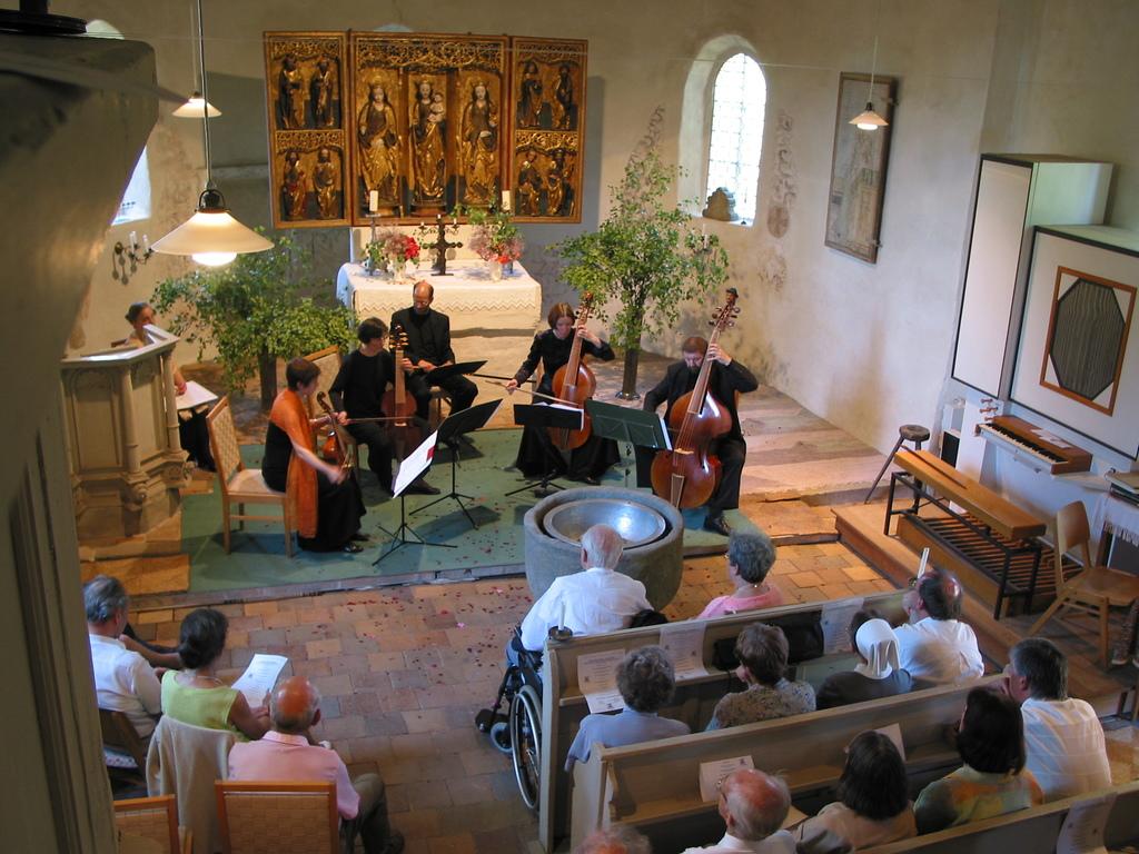 Konzert mit Musikern der Dresdner Philharmonie, Leitung Norbert Schuster
