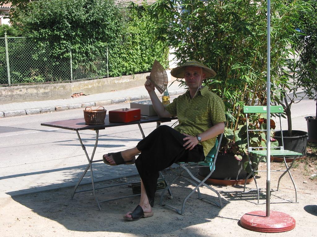 Bambusfest: Der freundliche Herr vom Einlass