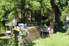 Bambusfest: Verkaufstände versteckt im Grünen