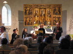 Konzert mit Silvia Kissig - Blockflöten, Ulrike Becker - Gambe, Gert Becker - Fagott, Christine Tschirge - Cembalo