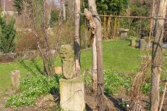 steinerne Skulptur