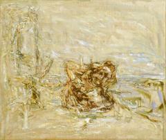 Baumstubben, 1980, Öl auf Leinwand, 55x65, Katalog Seite 15