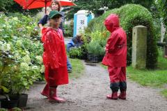 Bambusfest 2010 Ein wenig Regen stört uns nicht!