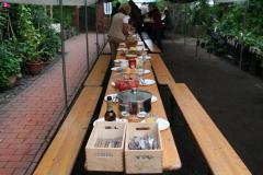 Bambusfest 2010 Und nach getaner Arbeit wird mal wieder lecker gegessen!